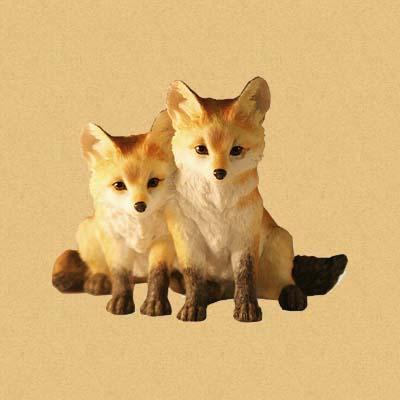 Два лисёнка (Fox Pups)
