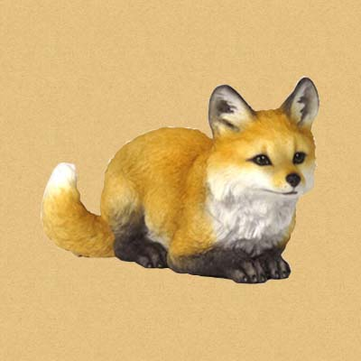 Лисёнок (Fox Pup Crouching)