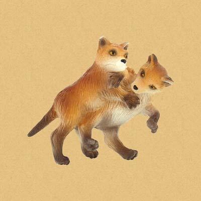 Детеныши Лисы (Fox Babys)