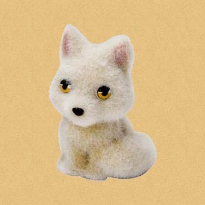 Арктическая лиса Дженни (Jenny)
