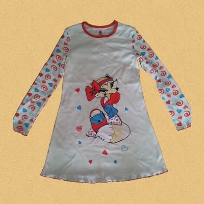 Лиса - сорочка для девочки