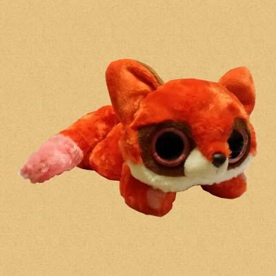Лисица красная лежачая